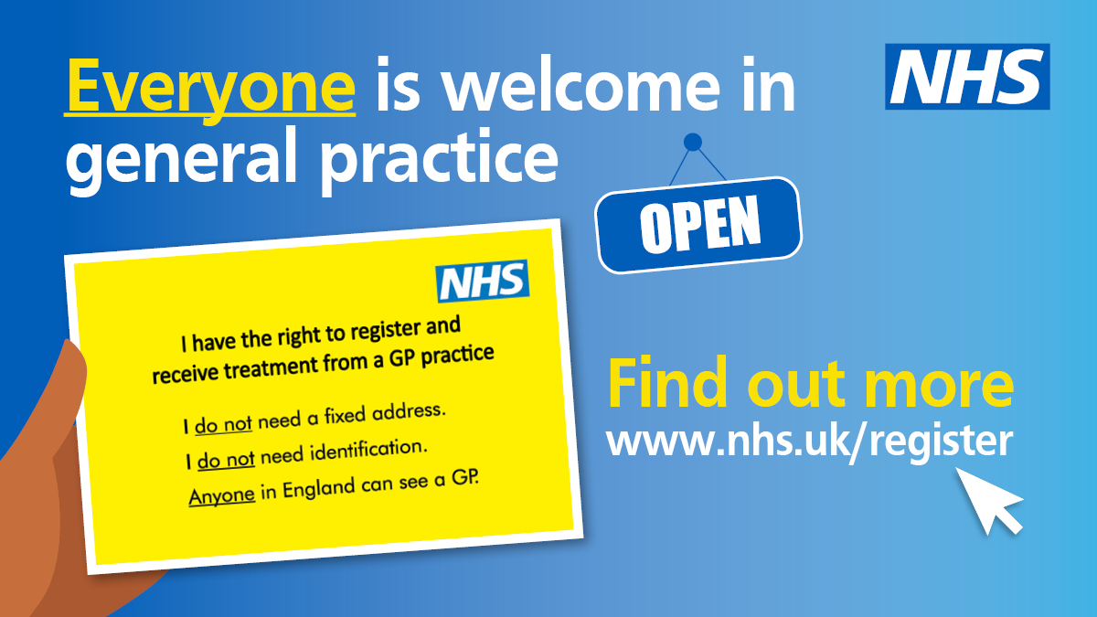 Everyone is welcome in General Practice